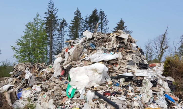 Hundreds of tonnes of waste discovered in Meath forest