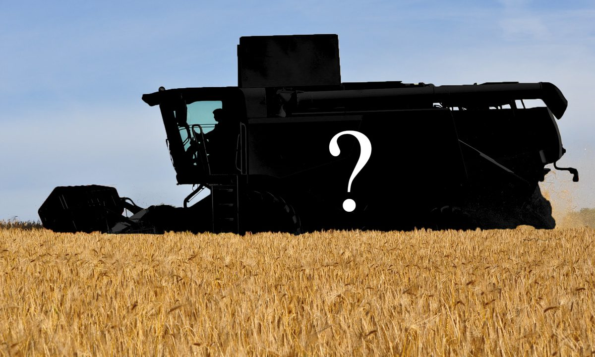 Combine harvesters: Who's top and how many are sold in Ireland?