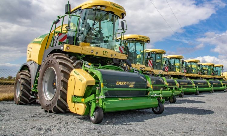 Record number of new self-propelled foragers sold in 2019