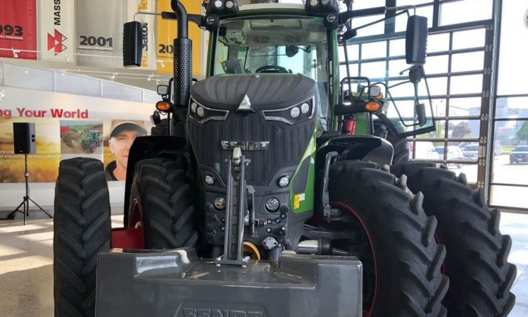 The new face of Fendt's next-generation 900 Vario tractors?