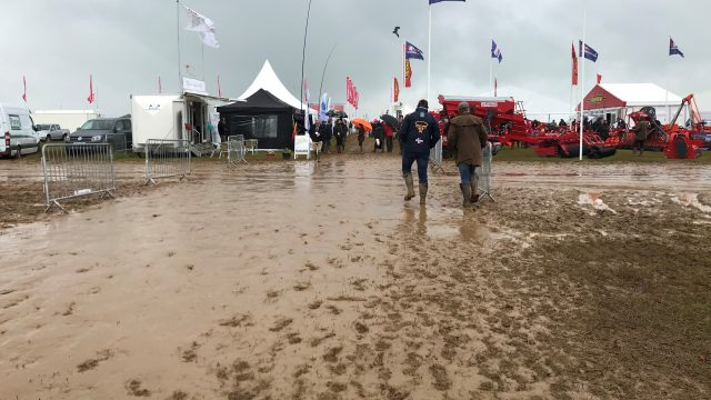 Pics: Weather impacts on 'Cereals' show, but bigger problems in UK fields