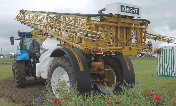 Video: See these sprayers in action