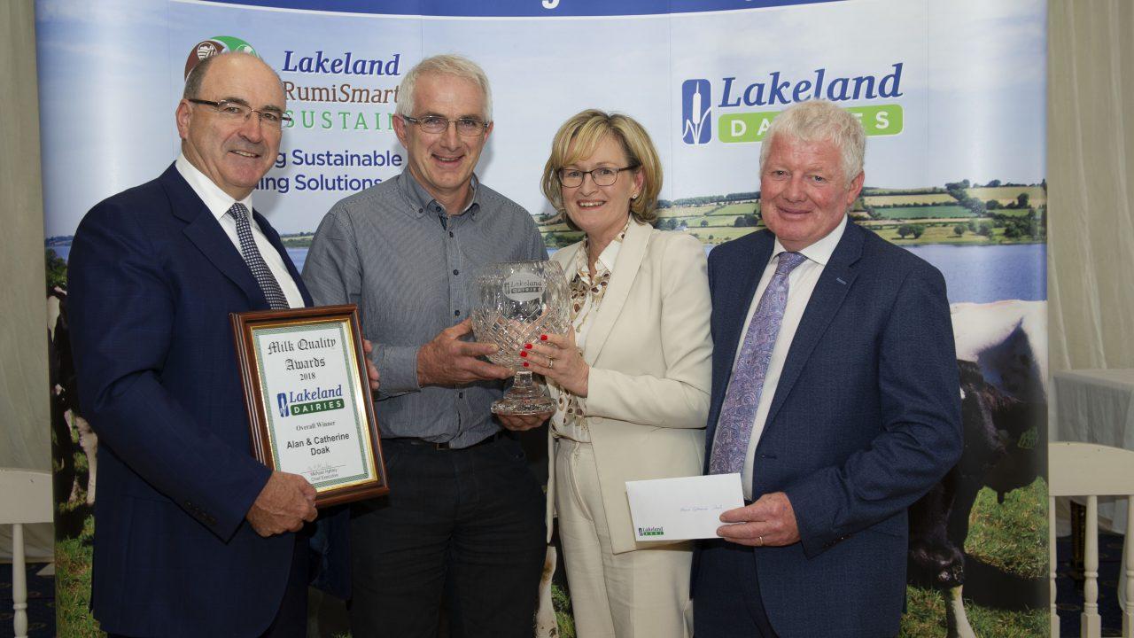 Winners unveiled at Lakeland milk quality awards