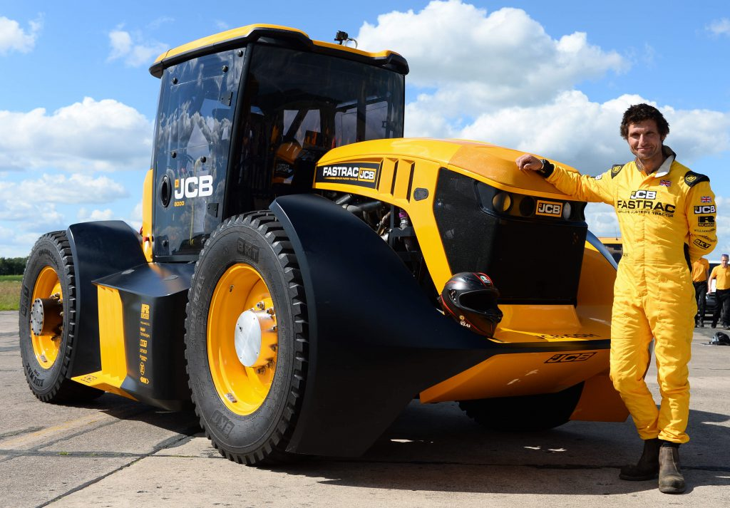 103mph Modified Jcb Fastrac Sets New Tractor Speed Record