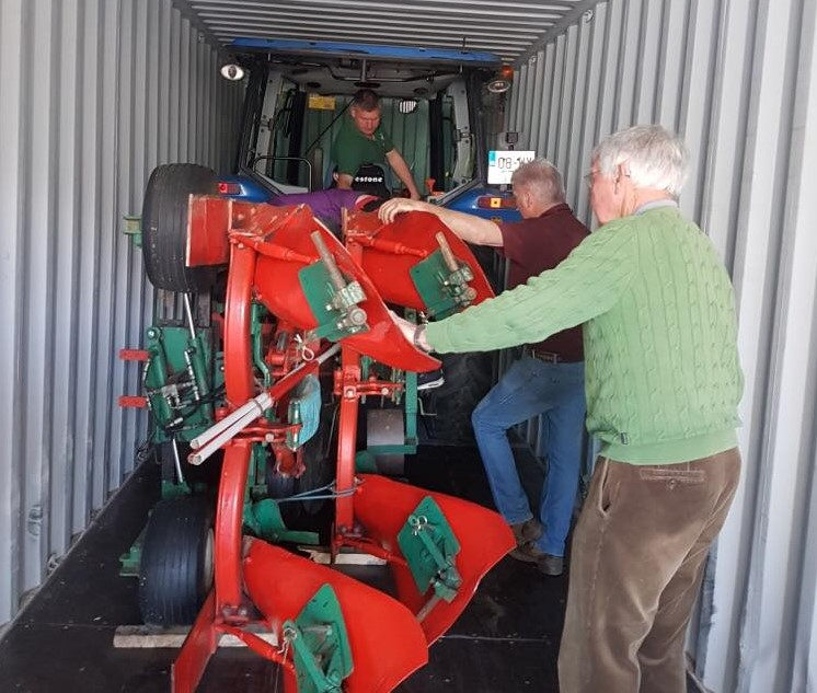 Carlow to Minnesota…the journey of 2 competition ploughs