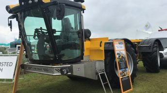 Spotted at Cereals 2019: Is it a tractor or a tool carrier?