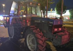 3 arrested following police chase…of stolen tractor