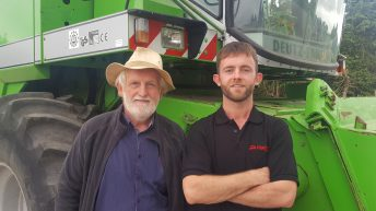 Video: 'The penny dropped; that's when we started breaking combines'