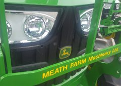 Table: What are the top-selling tractor brands in Ireland this year?