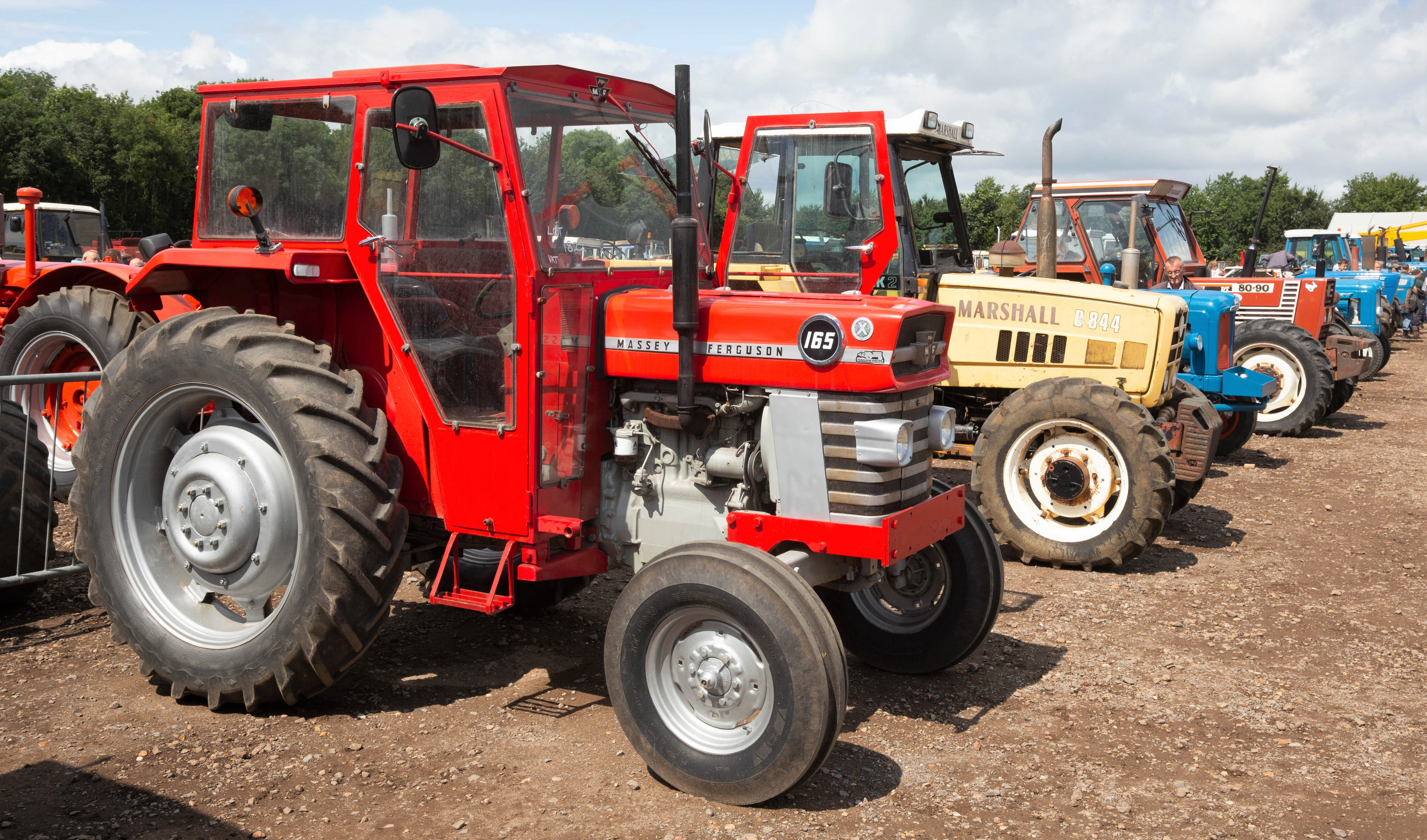 massey ferguson age by serial number