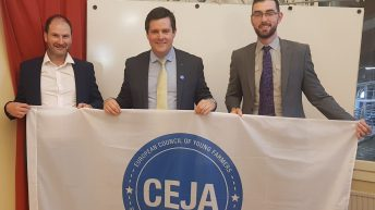Finan re-elected as European young farmers' council vice-president