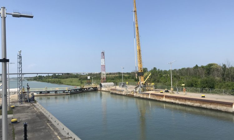 Watch: 15 canal locks…shipping maize from Ontario to Ireland
