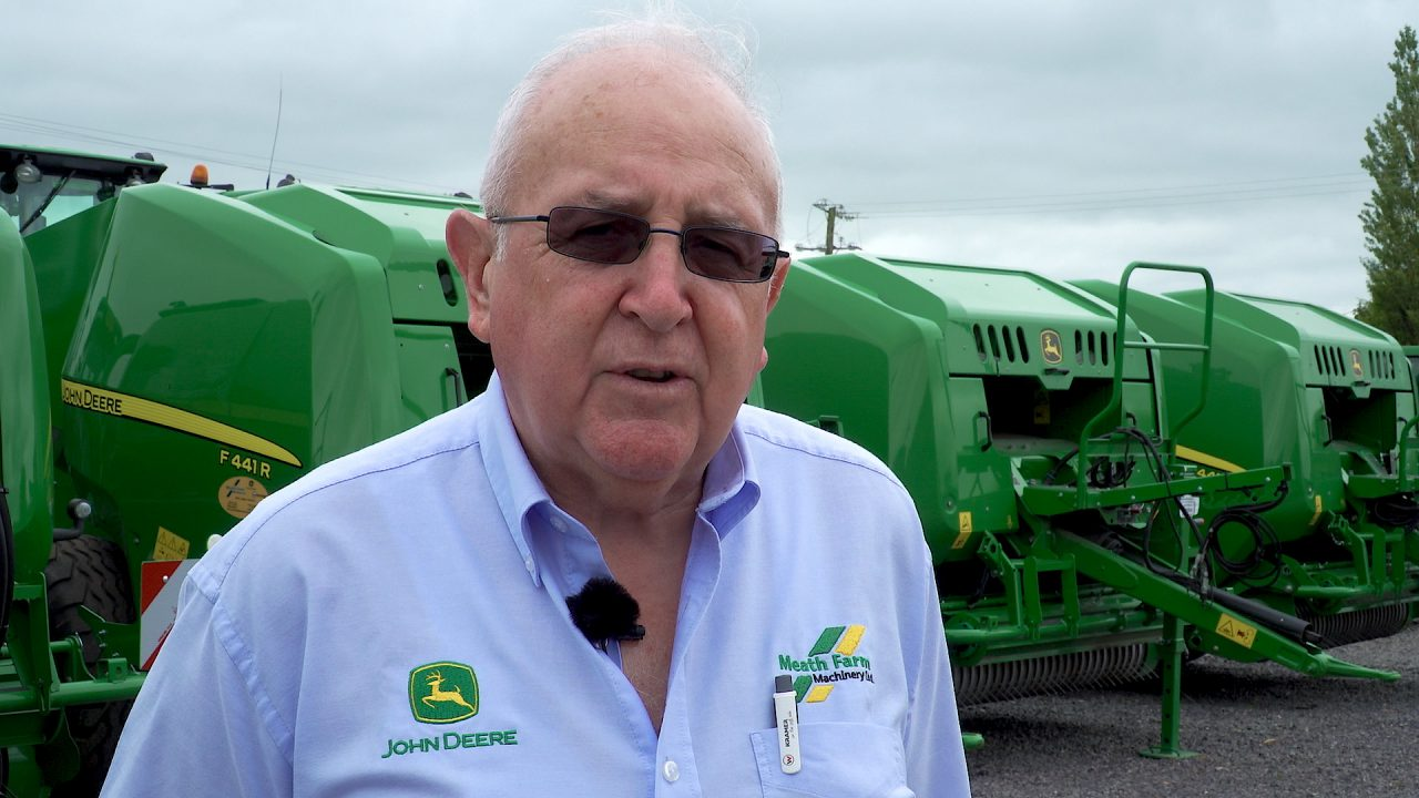 Video: Selling John Deere 'before it became a big name in Ireland'