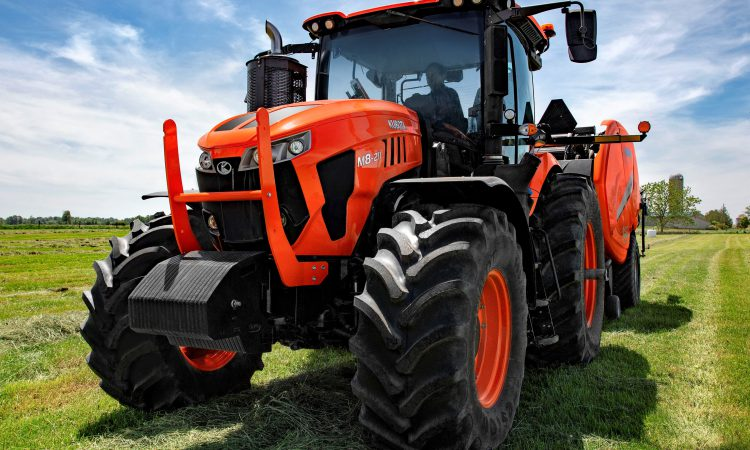 Pics: New 200hp+ Kubota tractors break cover