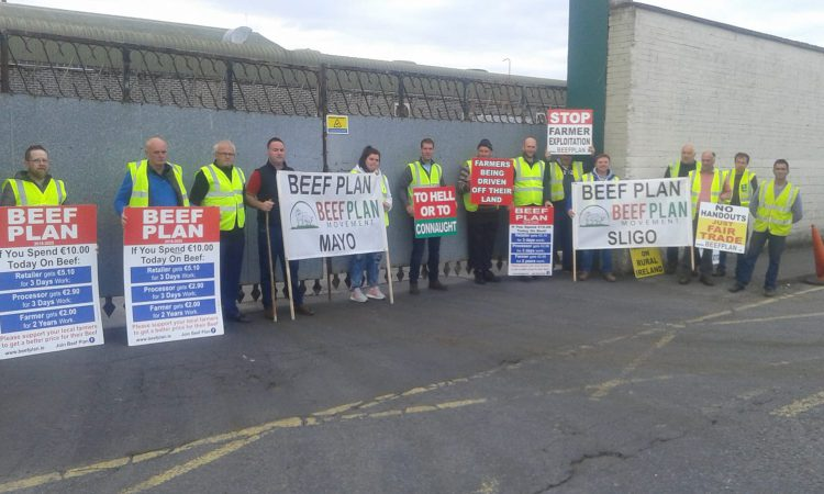 Pics: Beef Plan protests begin around the country