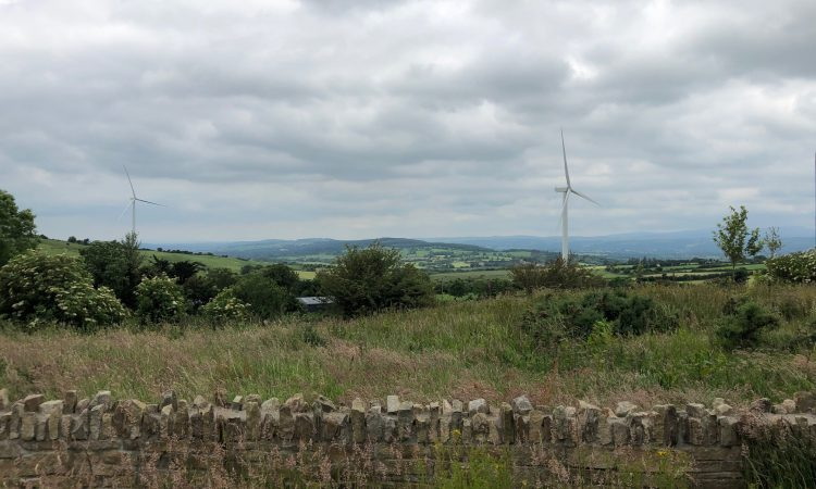 Families forced to leave their homes after wind farm breaches planning regulations