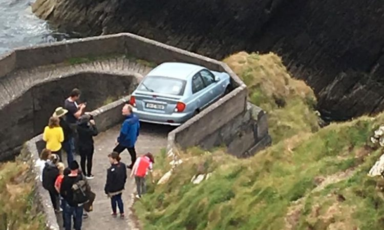 Learner driver encounters 'Sheep Highway' path mishap in Kerry
