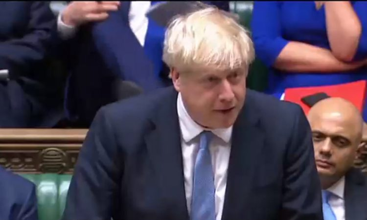 Johnson on NI border: 'Never mind the backstop'