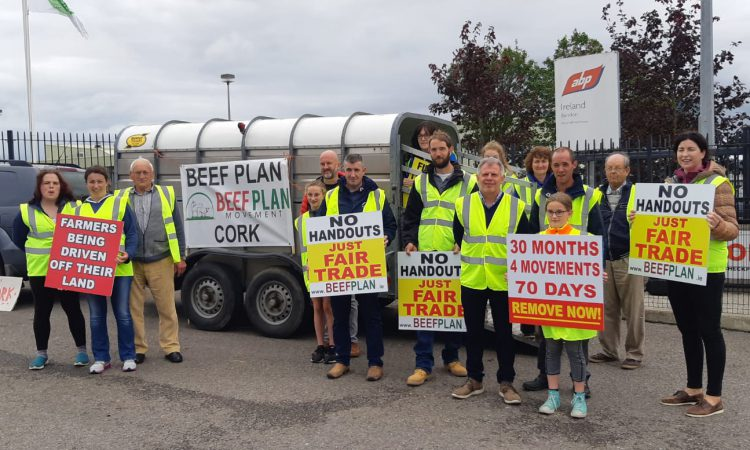 Beef Plan protest kicks off in Cork