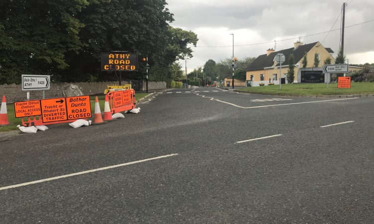 2-week road closure as cattle underpass is constructed