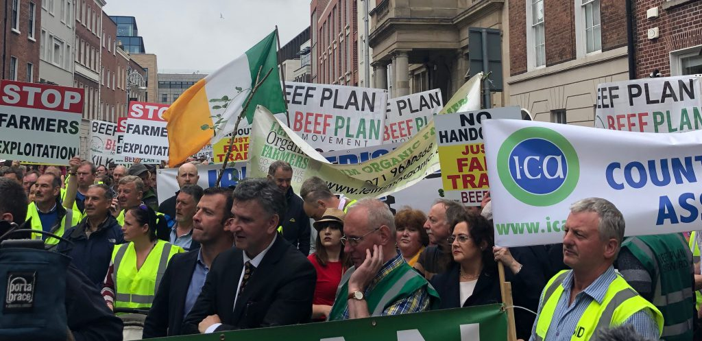 beef plan protest
