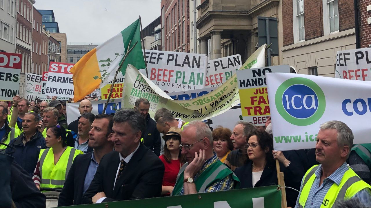 Beef Plan issues guidelines for farmer protests
