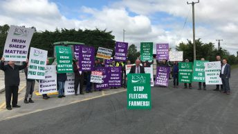 Overnight ICSA protest for price rise continues in Athleague