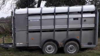 Appeal for info following theft of 2 trailers from yard