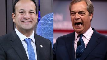 Taoiseach is a 'Brussels man' – Farage