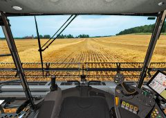 AGCO to unveil giant 790hp combine…with no steering wheel
