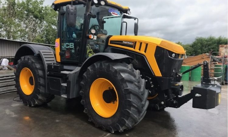 JCB Fastrac stolen in Friday night raid