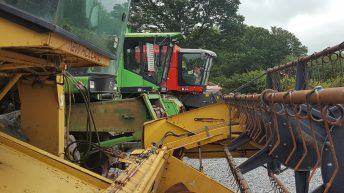 44 new combines registered this year; plus 24 used imports