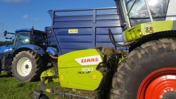 Video: A different 'angle' on trailers…from a midlands silage contractor