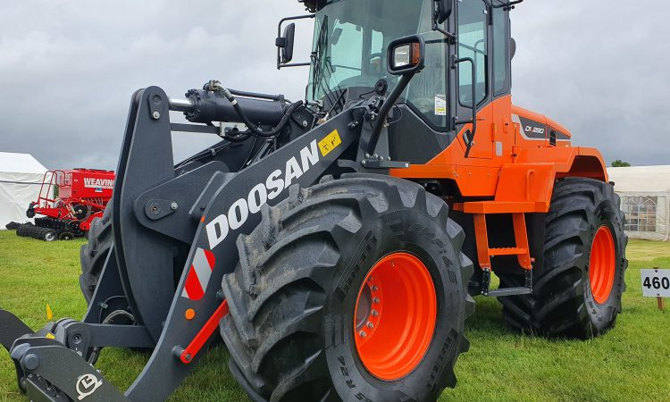 Pics: On-site machinery highlights at this year's Tullamore Show