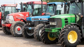 Table: What are the most popular used imported tractors for the first 6 months?