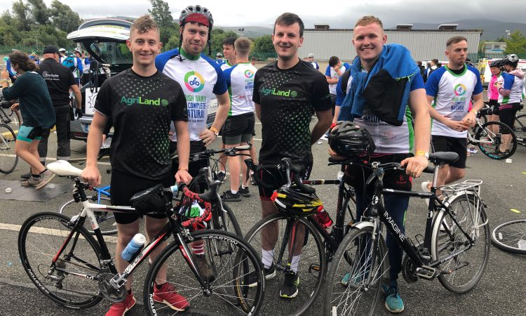 4 farmers embark on 80km cycle to Electric Picnic
