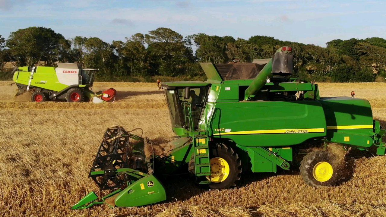 Harvest pics: Plenty of action these days