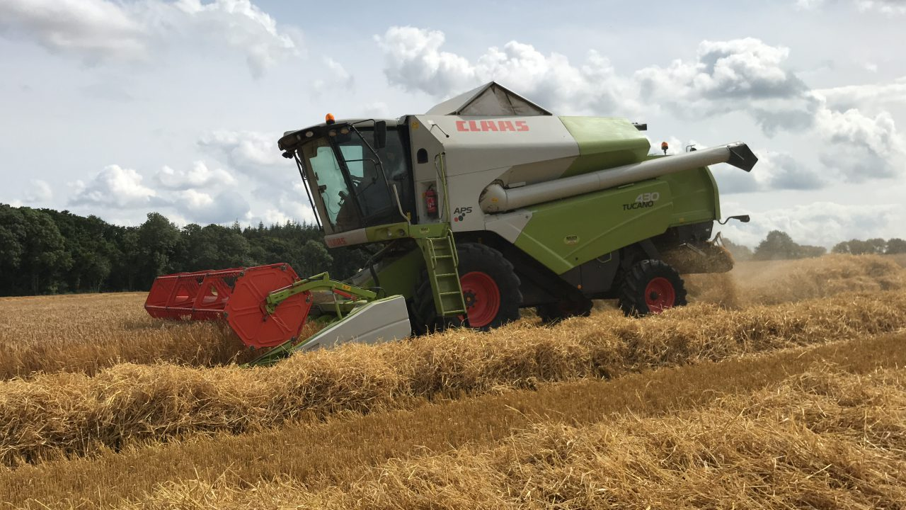Tillage focus: This farm will soon have its own whisky and beer