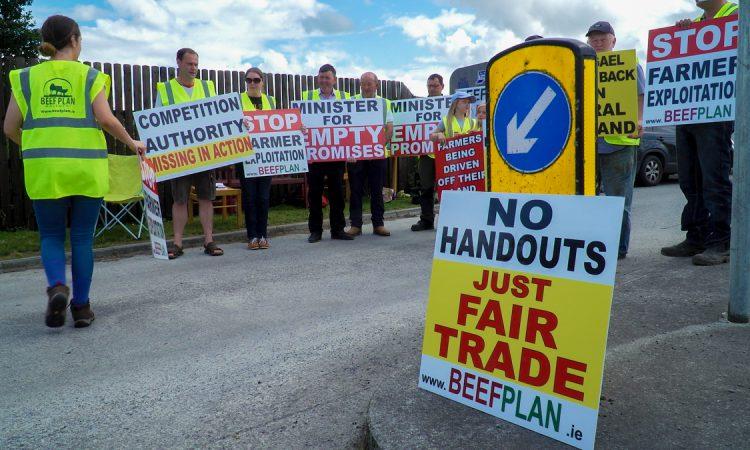 Beef Plan suspends Slane protest following farmer injury