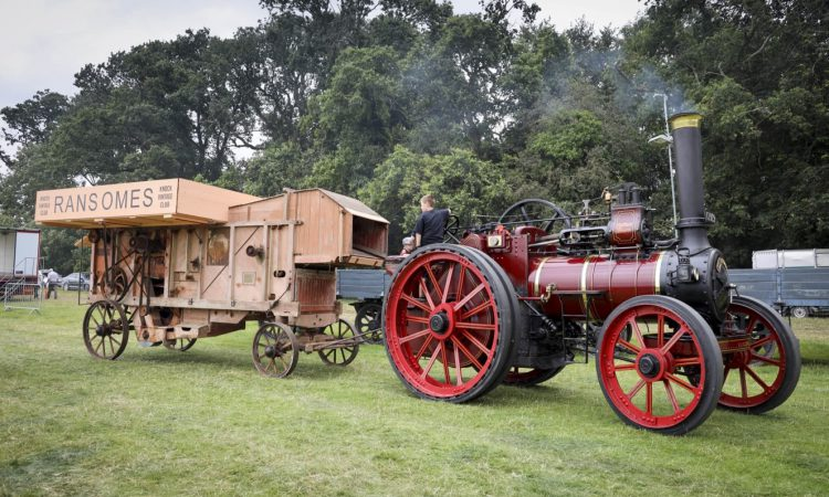 Laois steams ahead with annual threshing festival
