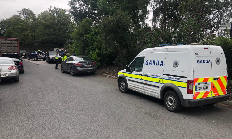 Protester struck by vehicle at Beef Plan protest in Slane