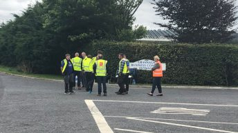 Farmer protests continue overnight in spite of injunction