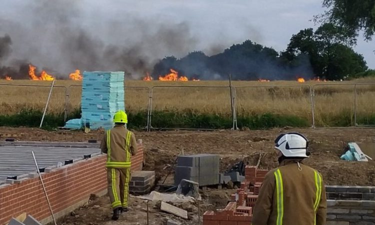 6 teens arrested in connection with 140ac UK crop fire