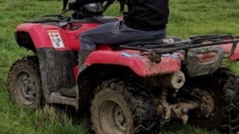 Gardaí investigate farmyard theft of quad and trailers