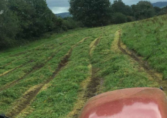 Silage recommences but conditions remain sticky in places
