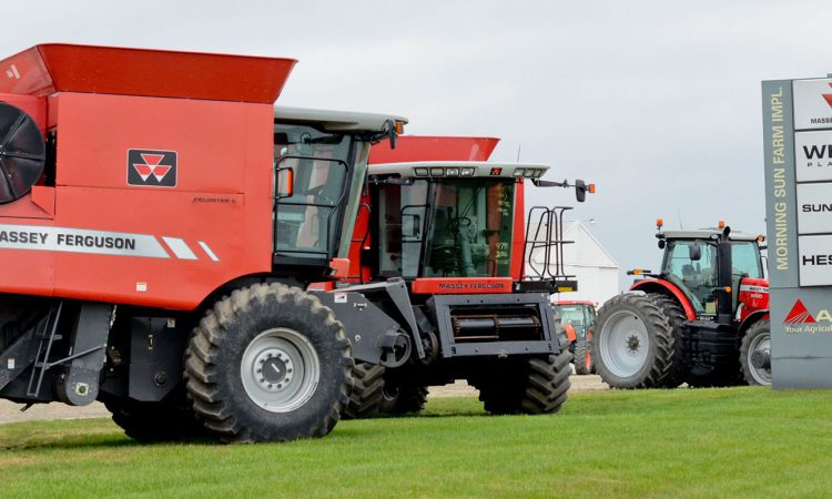Tractor and machinery sales fall in the US