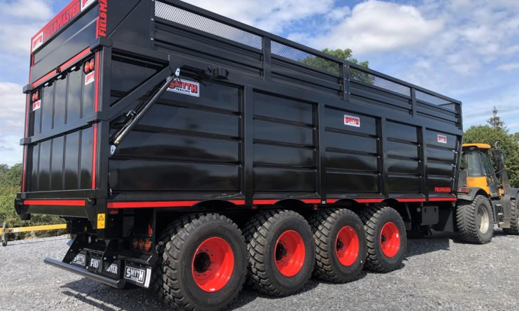 Giant 4-axle silage trailer rolls out of Carlow factory