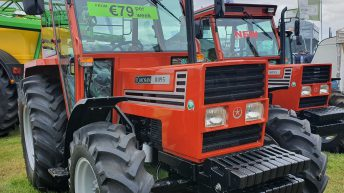 New tractor sales show a sharp drop