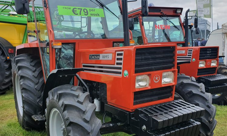 New tractor sales show a sharp drop
