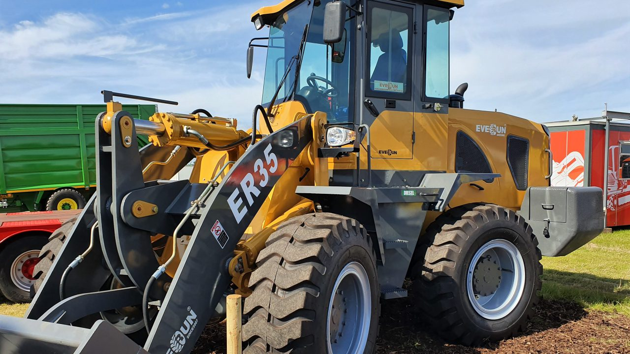 On-site pics: Loaders, handlers and plant in position for 'Ploughing 2019'